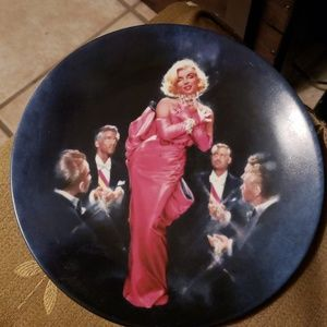 Marilyn Monroe Numbered Plates